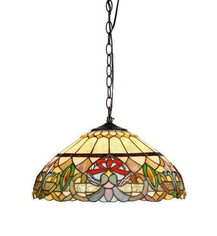 "CHLOE Lighting IRONCLAD Industrial-style 1 Light Brushed Nickel Ceiling Mini Pendant 16"" Shade"