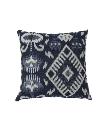 Contemporary Style Set of 2 Throw Pillows, Navy Blue -PL6032NV-S-2PK By Casagear Home