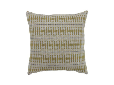 Contemporary Style Simple Traditionally Designed Set of 2 Throw Pillows, Yellow -PL6030YW-S-2PK By Casagear Home