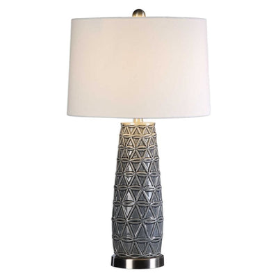 Cortinada Stone Gray Lamp By Uttermost