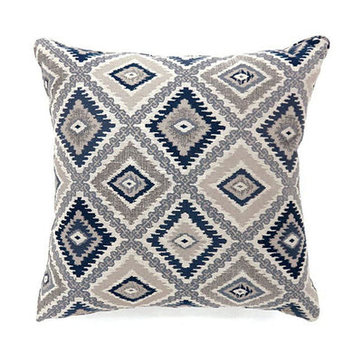 Deamund Contemporary Pillow, Set of 2, Large, Blue By Casagear Home