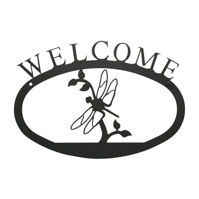 Dragonfly - Welcome Sign Large
