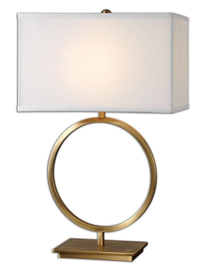 Duara Circle Table Lamp By Uttermost