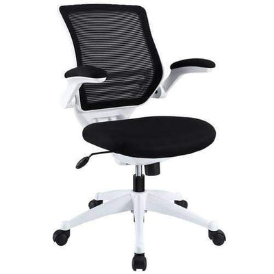 Edge White Base Office Chair Black