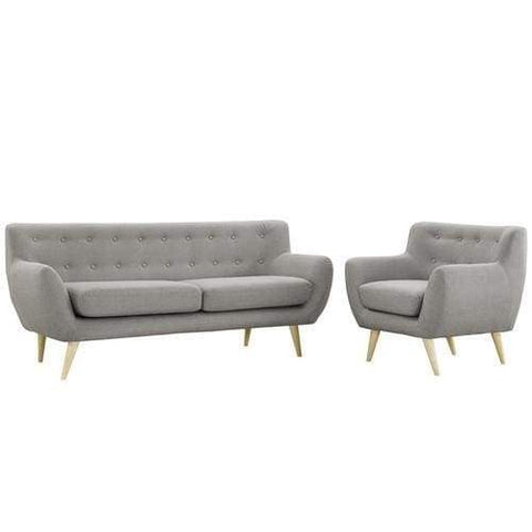 Left-Arm Loveseat Silver Orange Shore Outdoor Patio