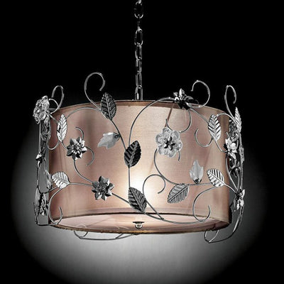 Elva Crystal Lamp Ceiling Lamp By Casagear Home