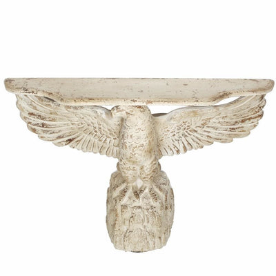Embellishing Majestic Eagle Decor, White By Casagear Home
