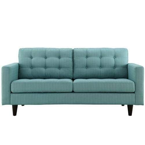 Empress Upholstered Loveseat Laguna