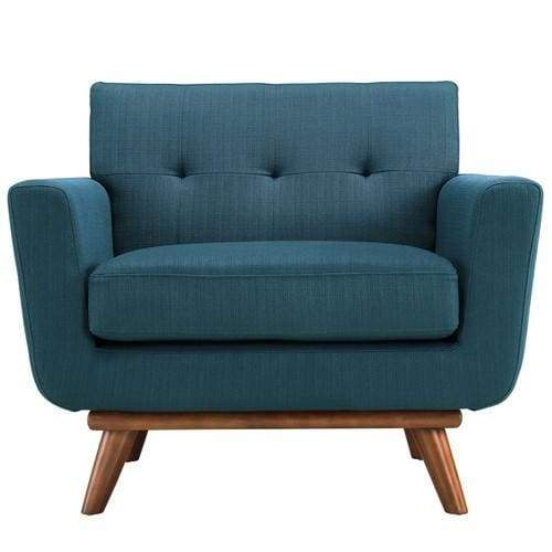 Engage Upholstered Armchair Azure