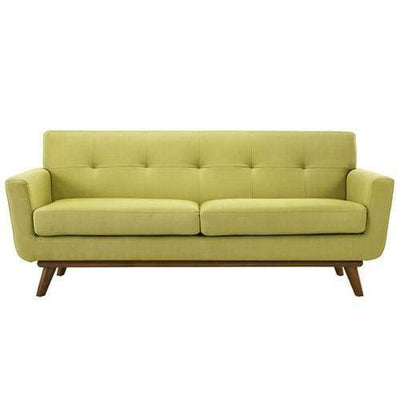 Engage Upholstered Loveseat Wheatgrass