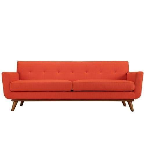 Engage Upholstered Sofa Atomic Red