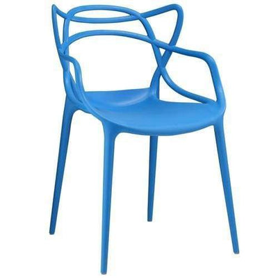 Entangled Dining Armchair Blue