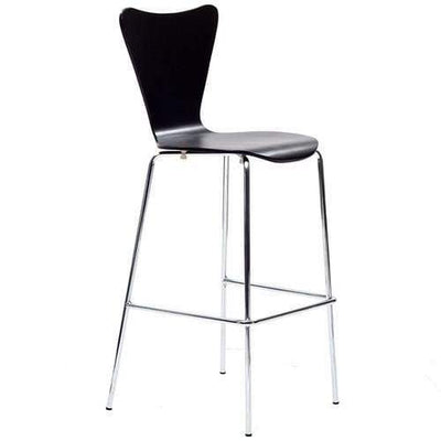 Ernie Bar Stool Black