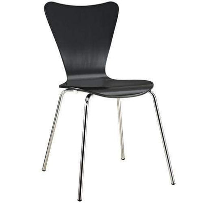 Ernie Dining Side Chair Black