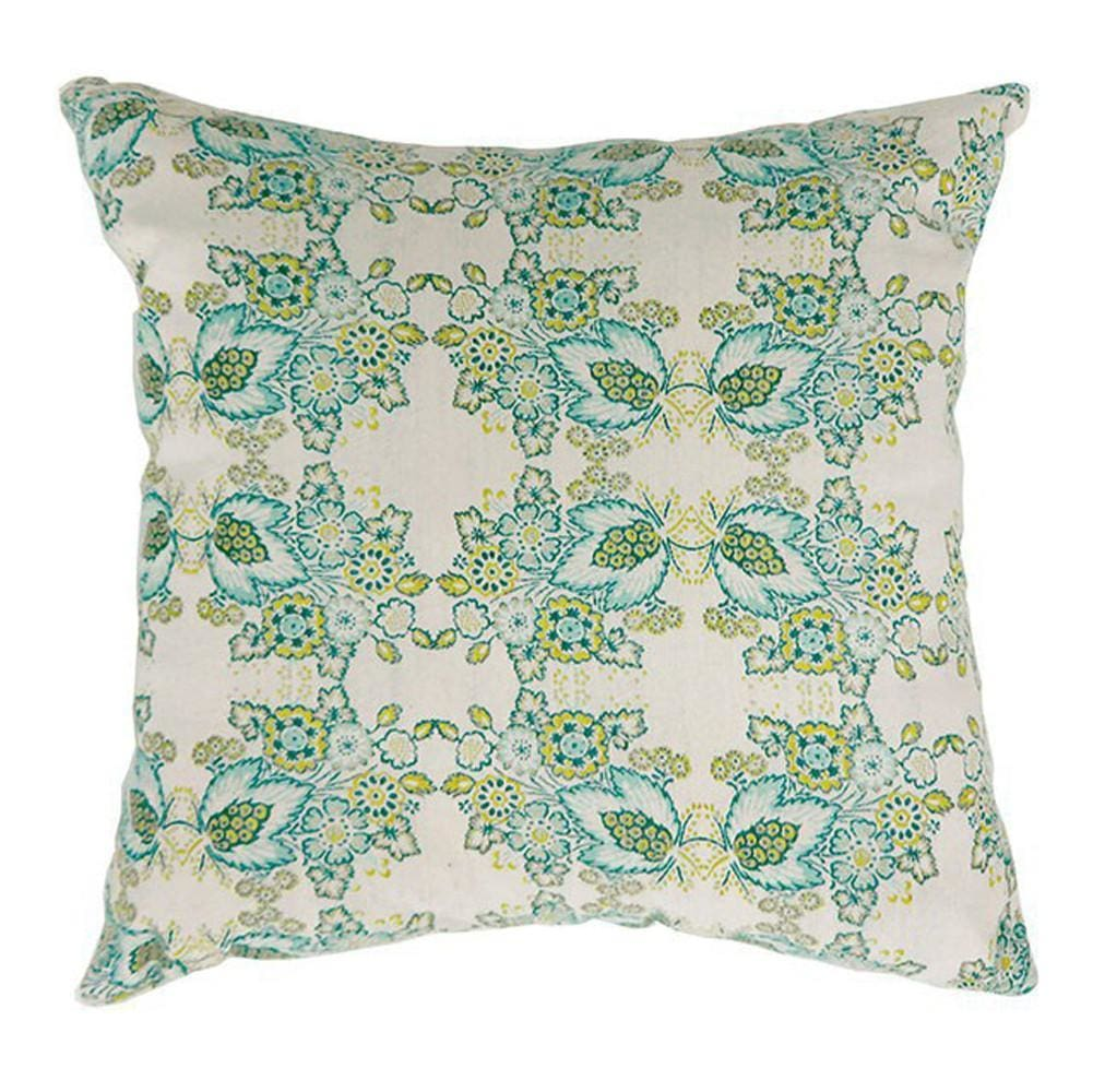 EVA Contemporary Big Pillow With fabric, Multicolor Finish, Set of 2 By Casagear Home