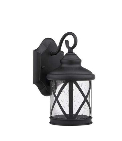 Fascinating Styled Black Polished Outdoor Sconce by Chloe Lighting