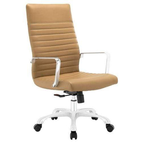Tan Ascend Mid Back Office Chair