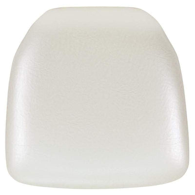 Hard Ivory Vinyl Chiavari Chair Cushion [BH-IVORY-HARD-VYL-GG]
