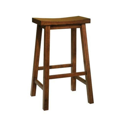 Honey Brown Bar Stool 29 Seat Height - overpacked PWC-455-431