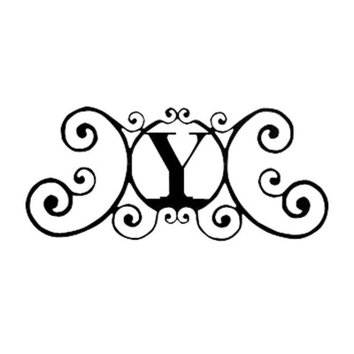 House Plaque Letter Y