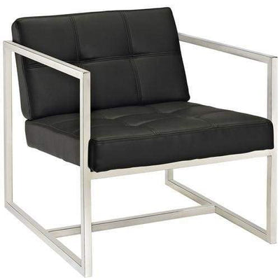 Hover Lounge Chair Black