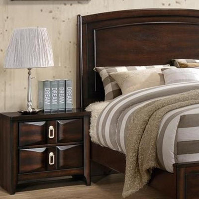 Ideally Assisting Night Stand Varnish Oak PDX-F4873