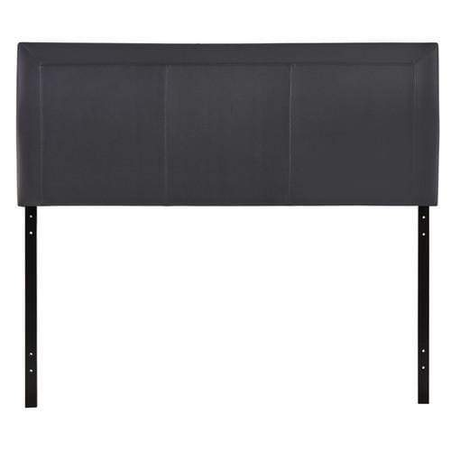 Isabella Queen Vinyl Headboard Black
