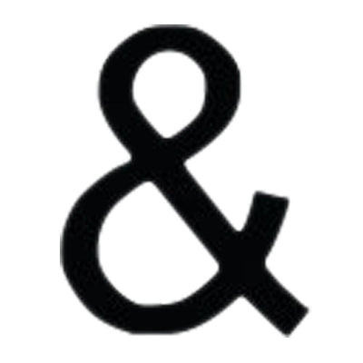 Letter Ampersand Medium