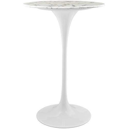 "Lippa 28"" Artificial Marble Side Table"