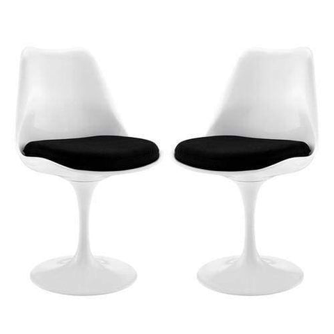 Lippa Dining Side Chair Set of 2 Black