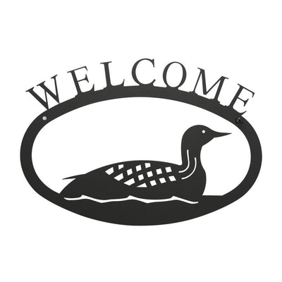 Loon - Welcome Sign Small