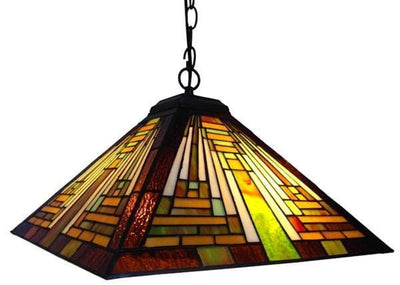 Lovely and Adorable Mission Pendant Lamp by Chloe Lighting