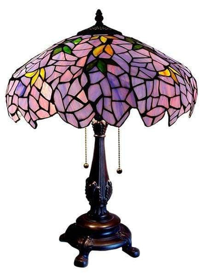 Magical Wisteria Table Lamp by Chloe Lighting