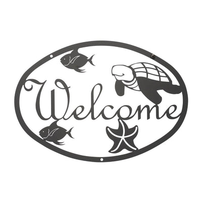 Ocean - Welcome Sign Medium