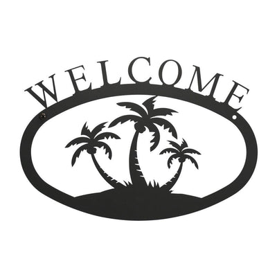 Palm Trees - Welcome Sign Small