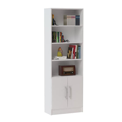 Practical Catarina Cabinet with 6- Shelves in White MHC-29AMC6