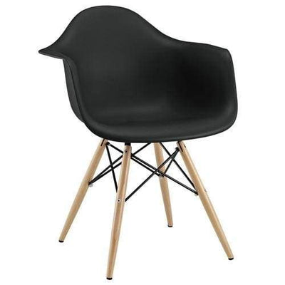 Pyramid Dining Armchair Black