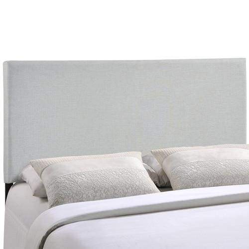 Region Full Upholstered Headboard Sky Gray