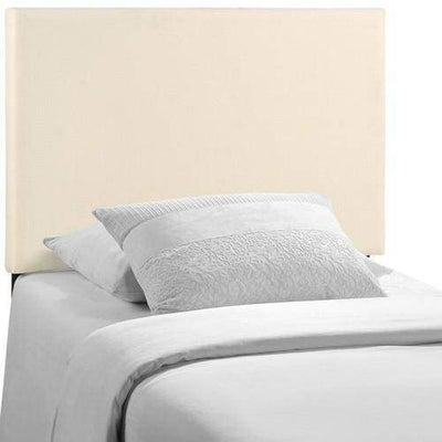 Region Twin Upholstered Headboard Ivory