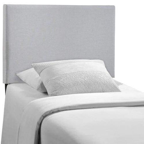 Region Twin Upholstered Headboard Sky Gray