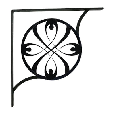 Ribbon - Shelf Brackets Medium -Village Wrought Iron VWI-SB-155-M