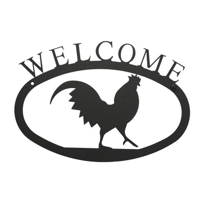 Rooster - Welcome Sign Small