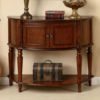 Roxbury Traditional Cherry Side Table By Casagear Home