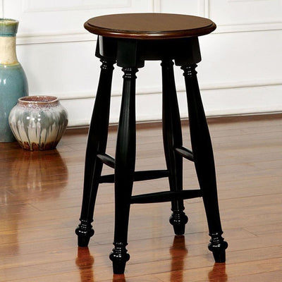 Sabrina Transitional Counter Height Stool, Set Of Two By Casagear Home