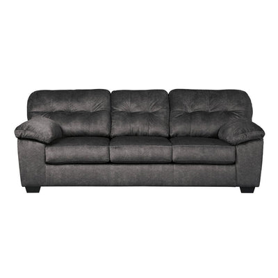 Signature Design by Ashley Accrington Sofa in Granite Microfiber FLH-FSD-1339SO-GRT-GG