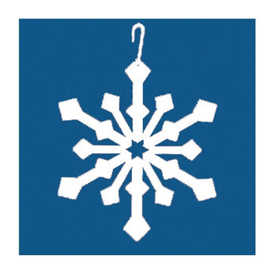 Snowflake - Decorative Hanging Silhouette