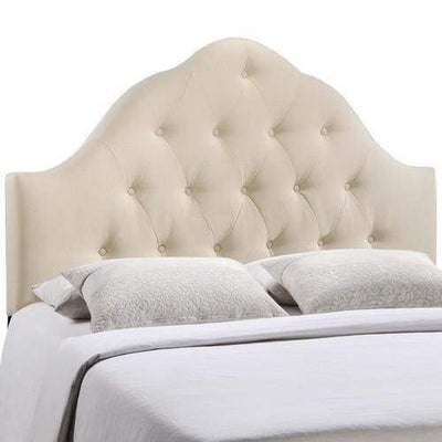 Sovereign King Fabric Headboard Ivory