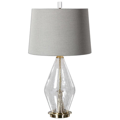 Spezzano Crackled Glass Lamp By Uttermost