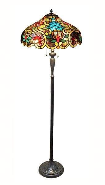 Statuesque and Stunning Leslie Floor Lamp by Chloe Lighting