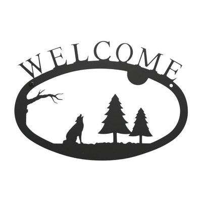 Timber Wolf - Welcom Sign Small